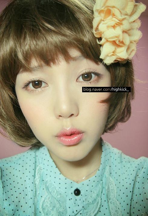 【박혜민(パク・ヘミン)通称PONY】オルチャンメイクアップアーティストに投稿された画像