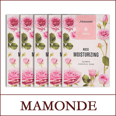 Flower Essential Rose Mask 20ml*5pcs
