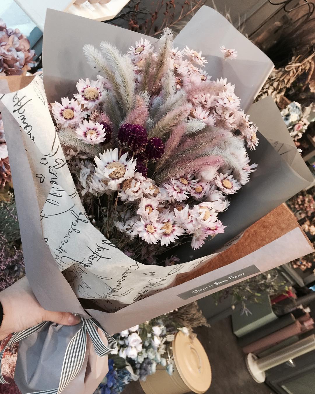 日本で買う花束よりオシャレ!