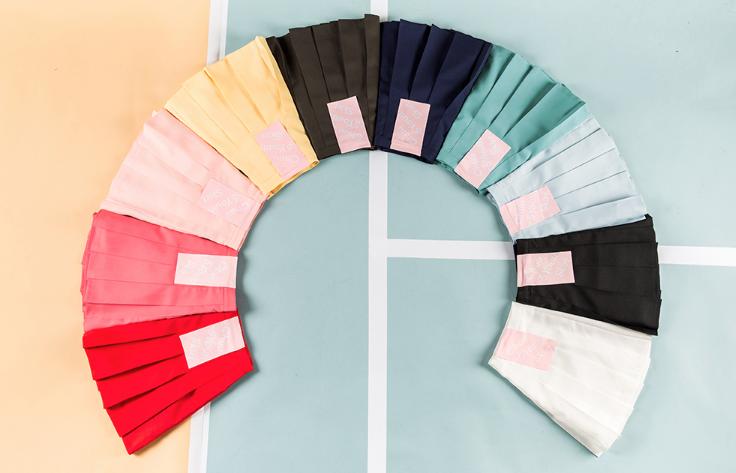 第一弾はオルチャンコーデの人気アイテム「テニススカート」♡
