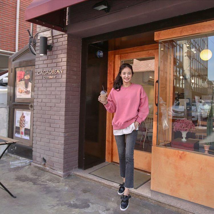 韓国っぽいお洋服も♡