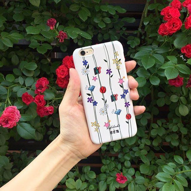 iPhoneケースがとても可愛い♡