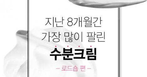 ~韓国コスメロードショップ編~ 8か月間で最も売れた水分クリーム part①♡ | 韓国情報サイト 모으다[モウダ]