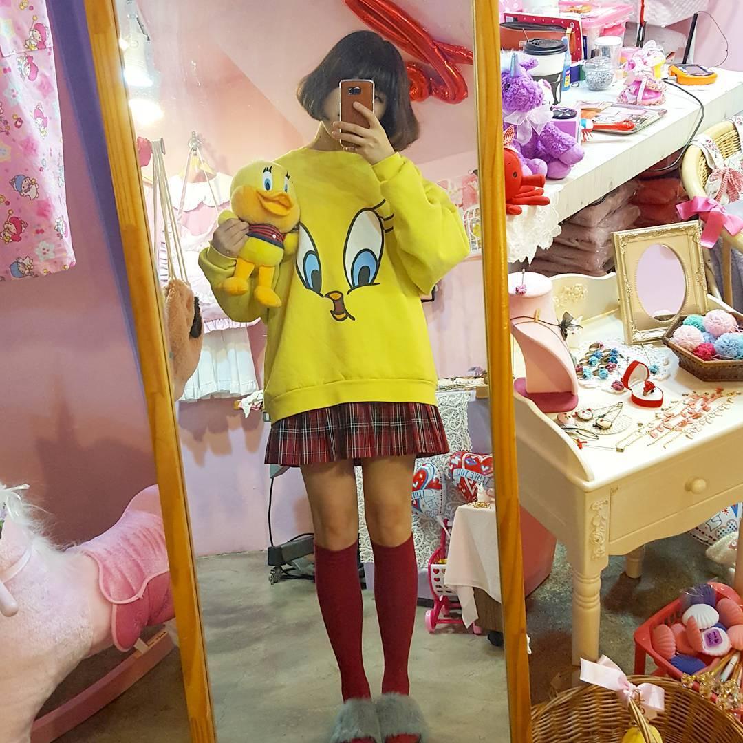 韓国ファッションとの融合♡
