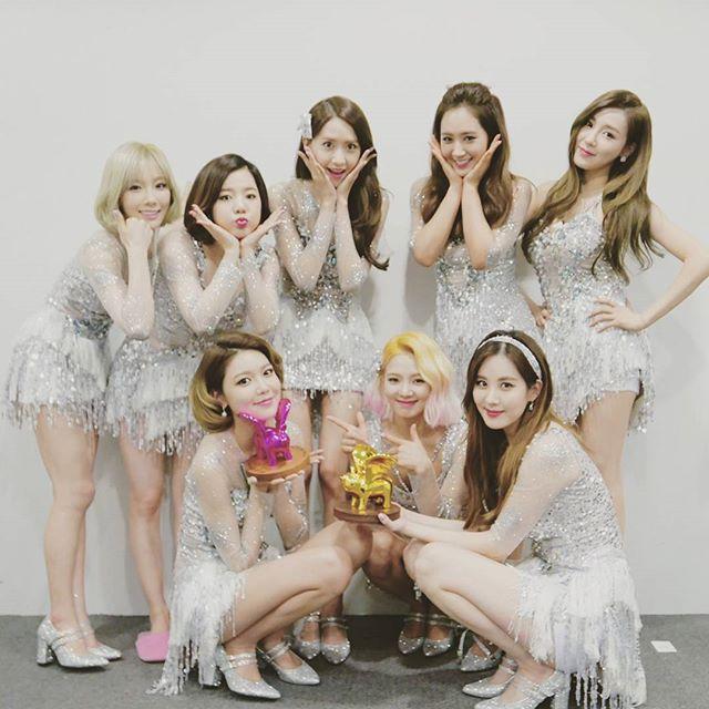 韓国の国民的アイドルグループ「少女時代」
