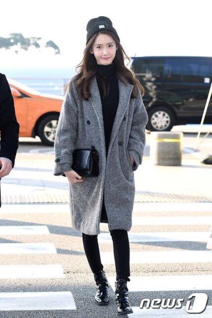 オシャレでコーデの参考になる♡韓国女性芸能人達の\u201c2017年1月\u201d空港ファッション特集!に投稿された画像No.3