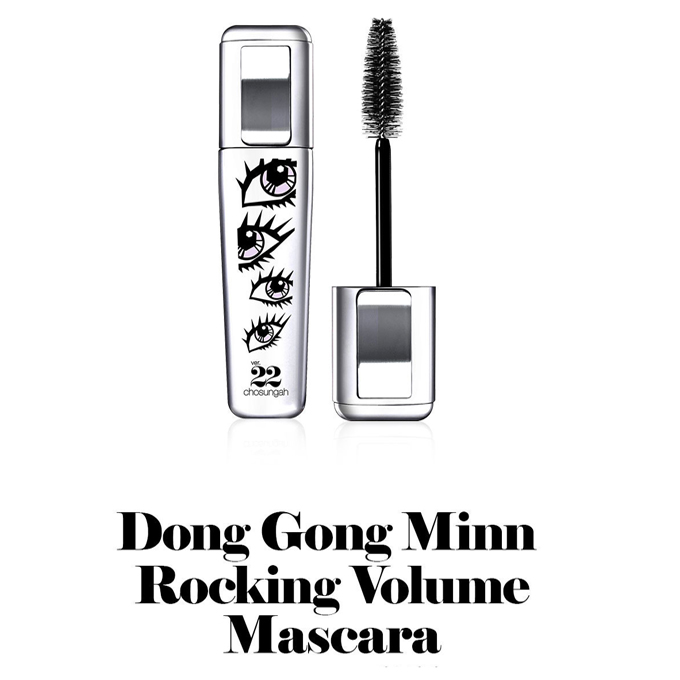[ Chosungah 22 / チョソンア22 ] Dong Gong Minn Rocking Volume Mascara Black