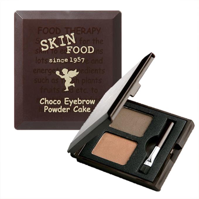[ SKINFOOD / スキンフード ] Choco Eyebrow Powder Cake #2 /チョコアイブロウパウダーケーキ#2