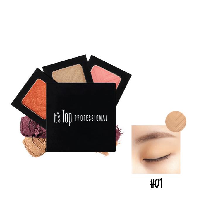 [ Its Skin/イッツスキン ] Its Top Professional Mono Eyeshadowhadow 01 / イッツトッププロフェショナルモノアイシャドウ 01