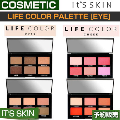 【it's skin】Life Color Palette CHEEK