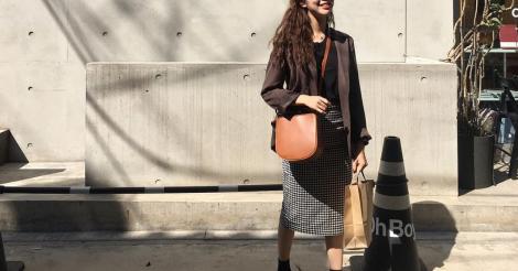 秋ファッションの参考に♡韓国女子に学ぶ秋のポイントカラーコーデ【vol.1】 | 韓国情報サイト 모으다[モウダ]