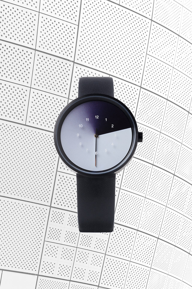 Hidden Time Watch クールブラック (Cool Black)