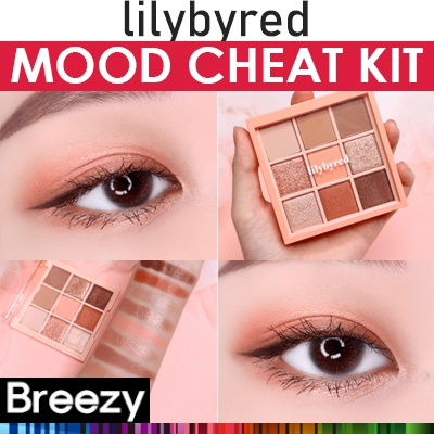 BREEZY ★ [LILYBYRED]新発売!リリーバイレッドムードチートキットアイシャドウパレット/Lilybyred MOOD CHEAT KIT/韓国コスメ