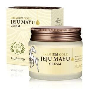 【30%OFF】【10/4~10/7限定】[ELISHACOY/エリシャコイ] Premium Gold Jeju Mayu Cream / プレミアム ゴールド 済州 馬油 クリーム フェイスクリーム お肌 スキンケア 化粧品 コスメ 韓国コスメ SkinGarden/スキンガーデン