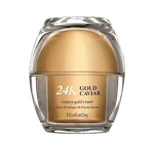 [ELISHACOY/エリシャコイ] 24K Gold Caviar Luxury Gold Cream / ゴールドキャビアラグジュアリーゴールドクリーム 50ml